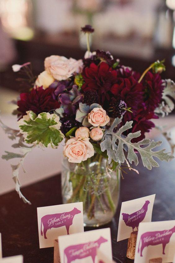 Long Stem Purple Flowers