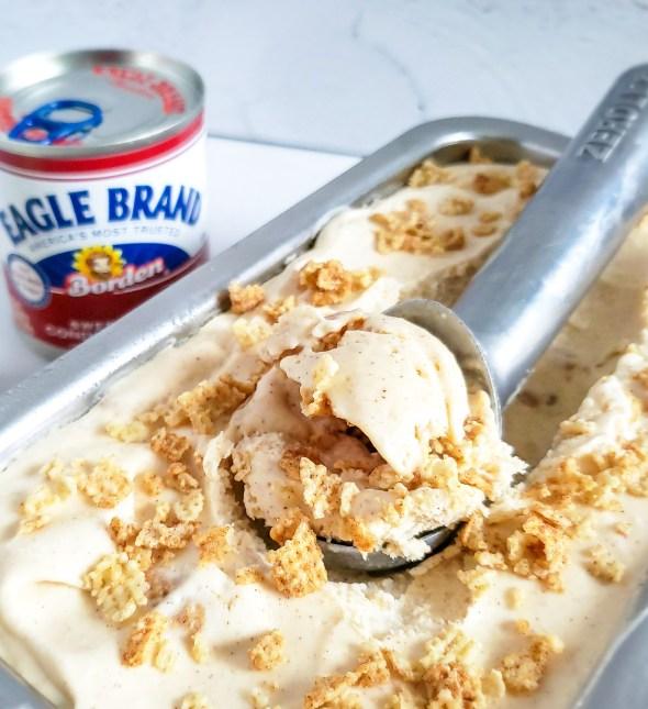 Brown Sugar Cinnamon Crunch Ice Cream
