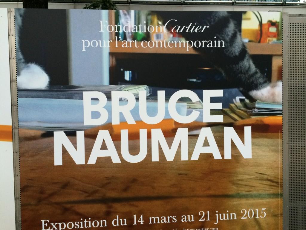 exposition_Bruce_Nauman_fondation_Cartier