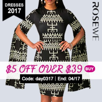 $5 Off for Dresses 2017