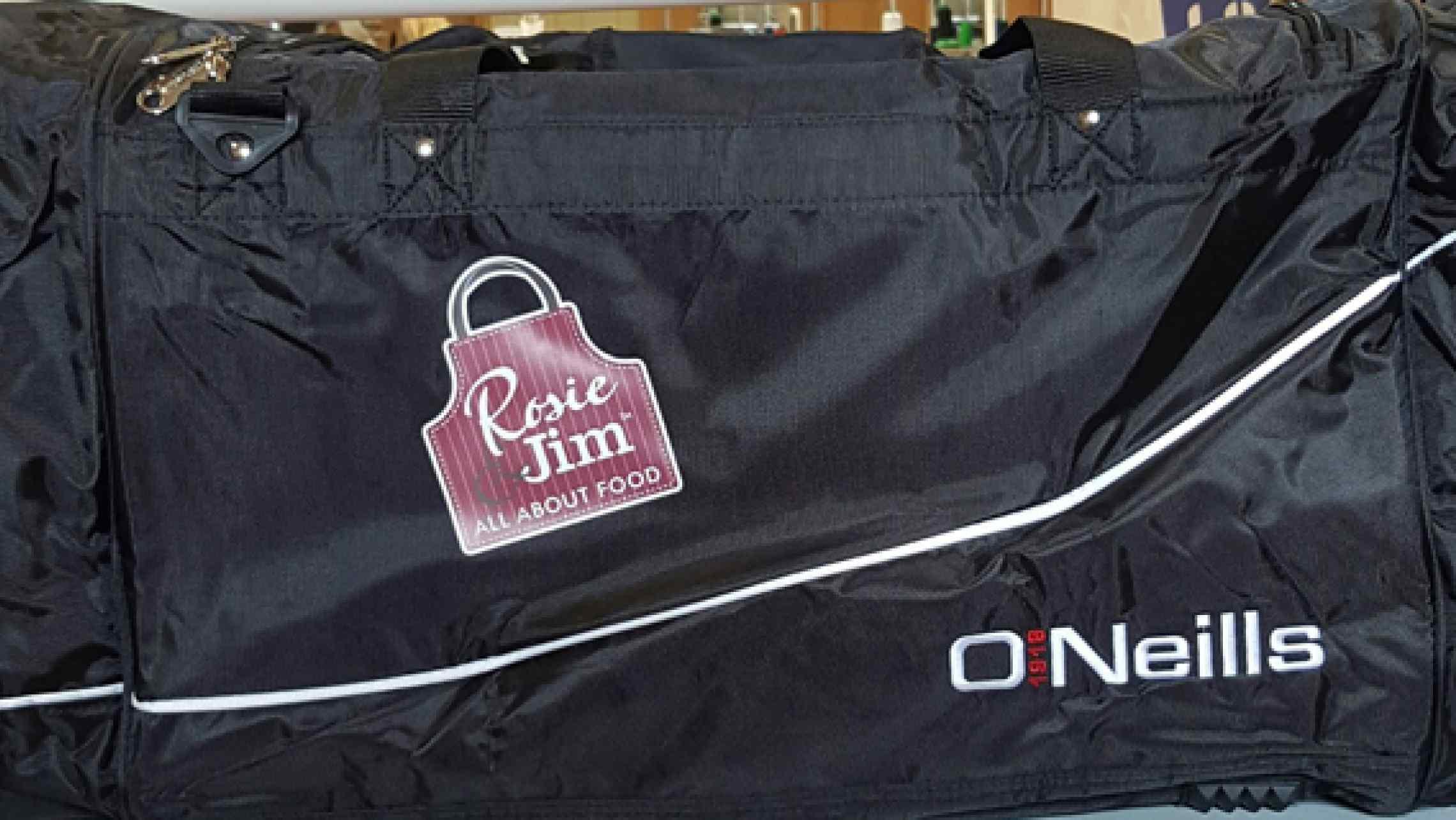 Rosie & Jim sponsor O'Neills Gear Bags for Courtwood GAA ...