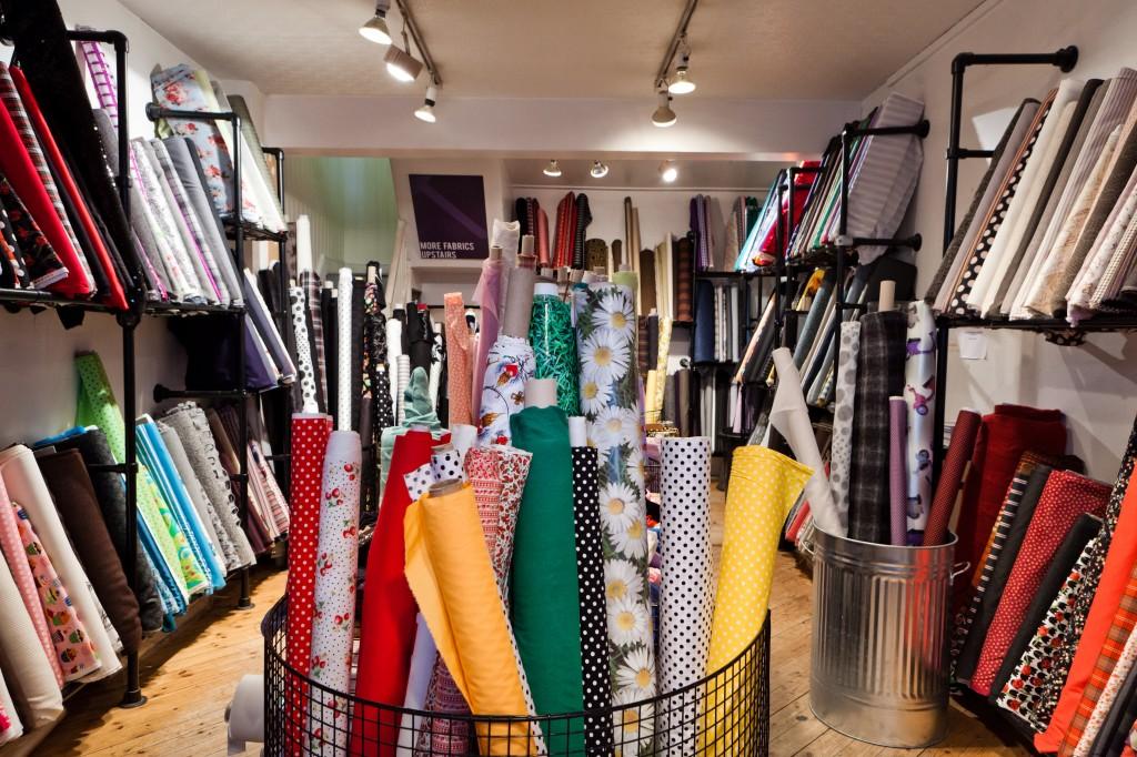 View of Ditto Fabrics Interior