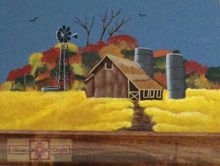 Rosie Crafts Autumn Painted Landscape
