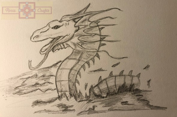 Rosie Crafts Dragon Drawing