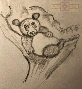 Rosie Crafts Panda Bear Drawing