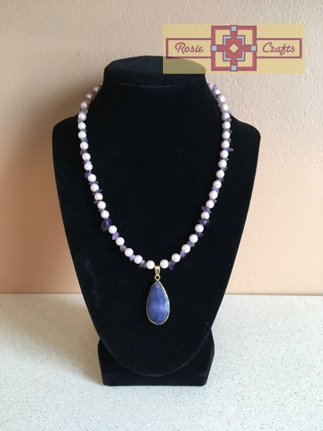 Artisan Tribes Southwest Amethyst Necklace