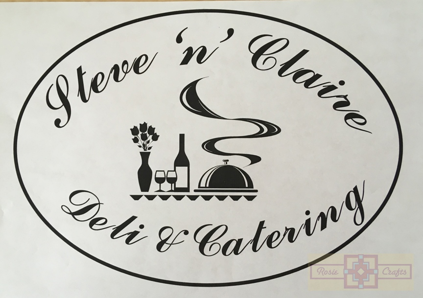 Rosie Crafts Deli and Catering Logo Concept 2