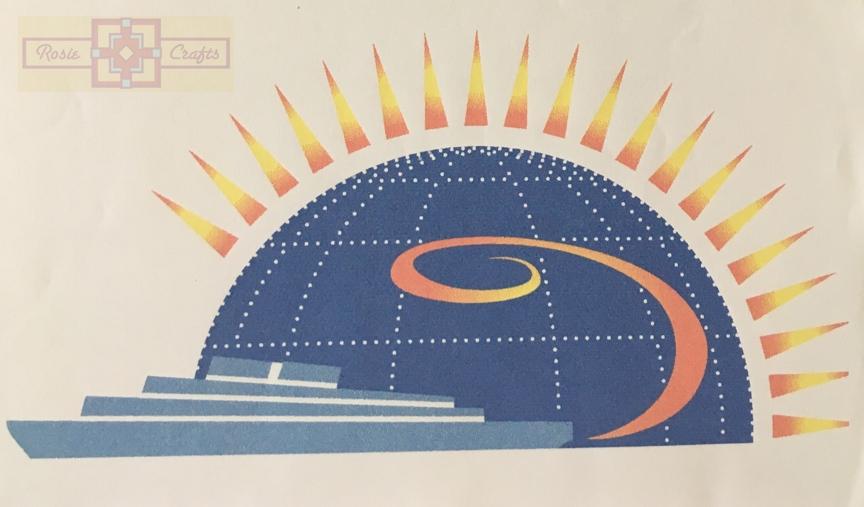 Rosie Crafts Travel Agency Logo Design