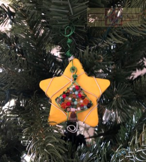Rosie Crafts Christmas Startree Ornament
