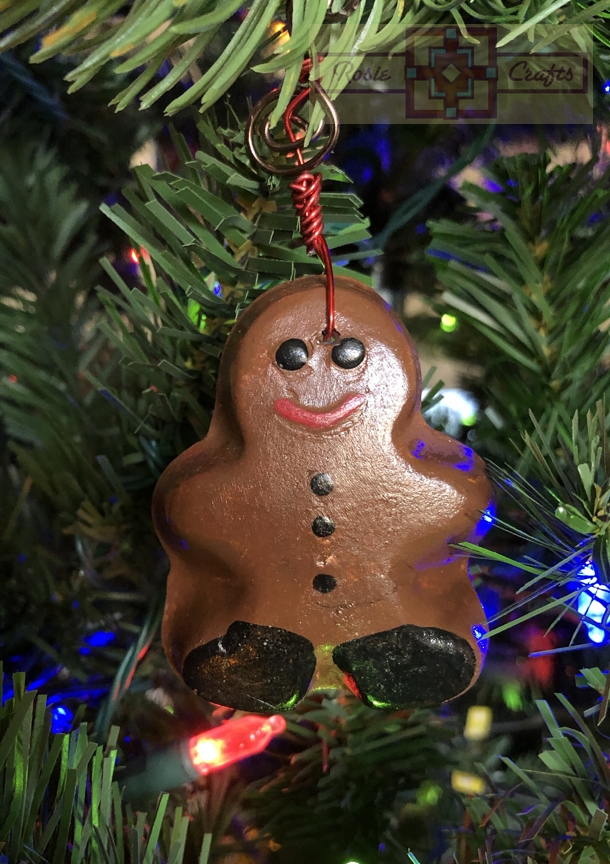 Rosie Crafts Christmas Gingerman Ornament