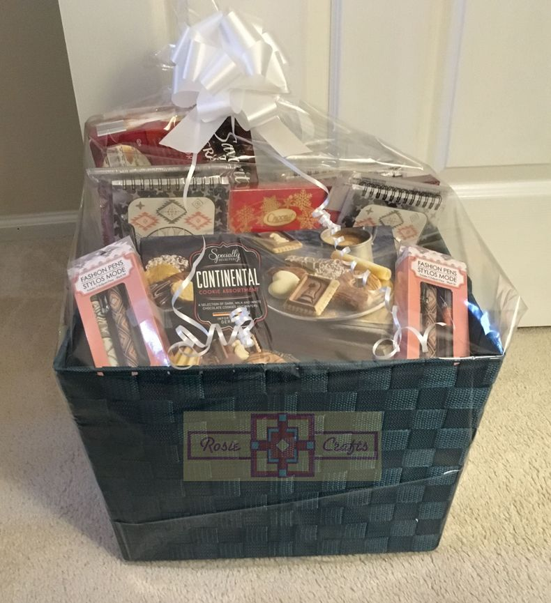 Rosie Crafts Office Christmas Gift Basket