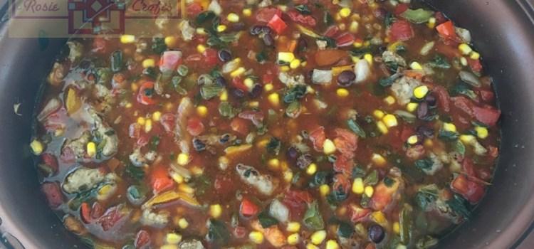 Rosie Crafts Sausage Soup