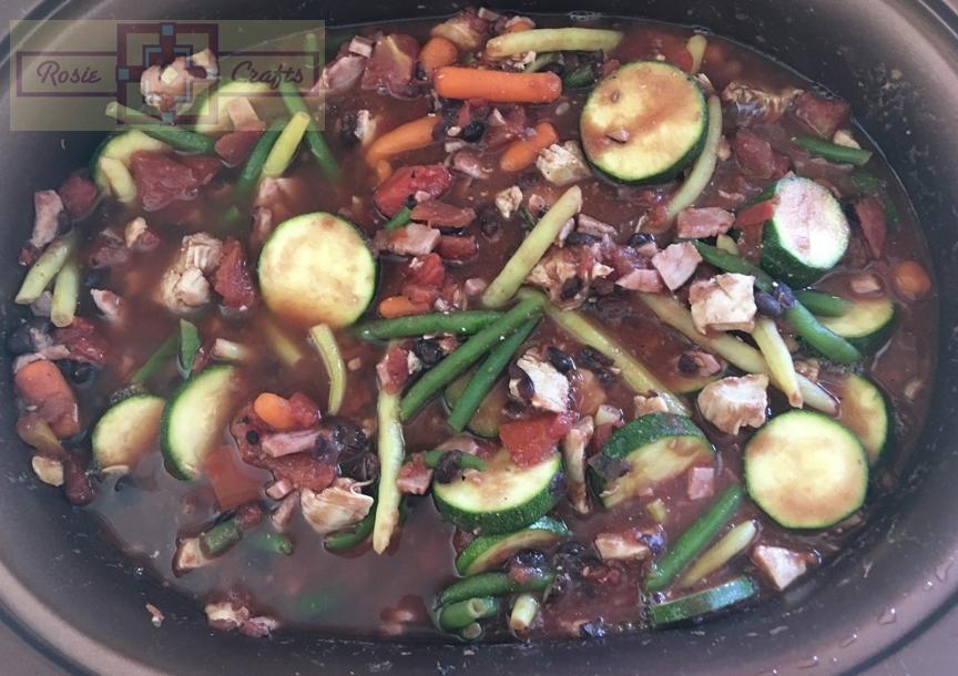 Rosie Crafts Chicken & Ham Vegetable Soup
