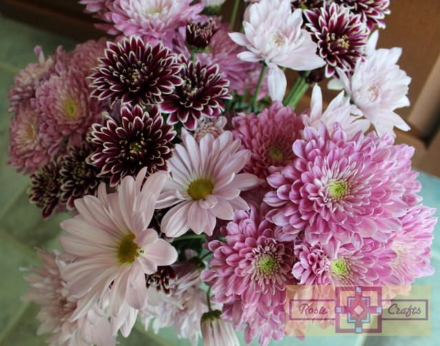 Rosie Crafts Mother's Day Flower Bouquet Photography