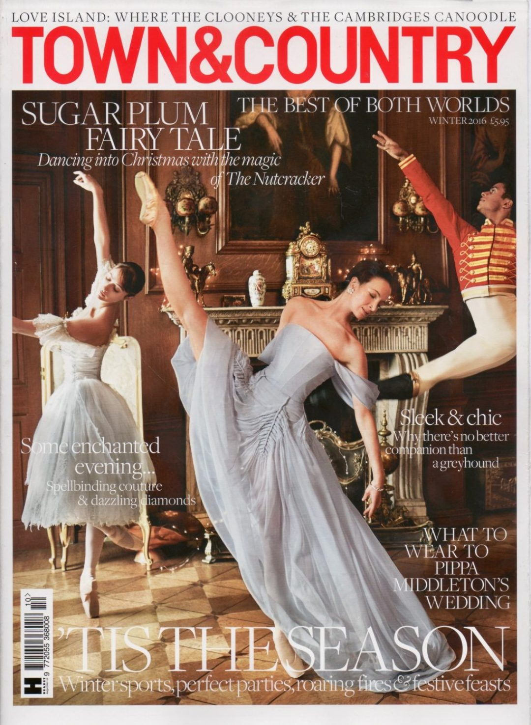 TOWN AND COUNTRY MAGAZINE 2016 ROSIE SUGDEN