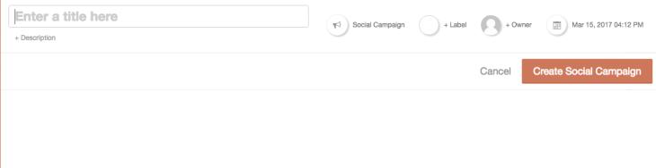CoSchedule Social media campaign