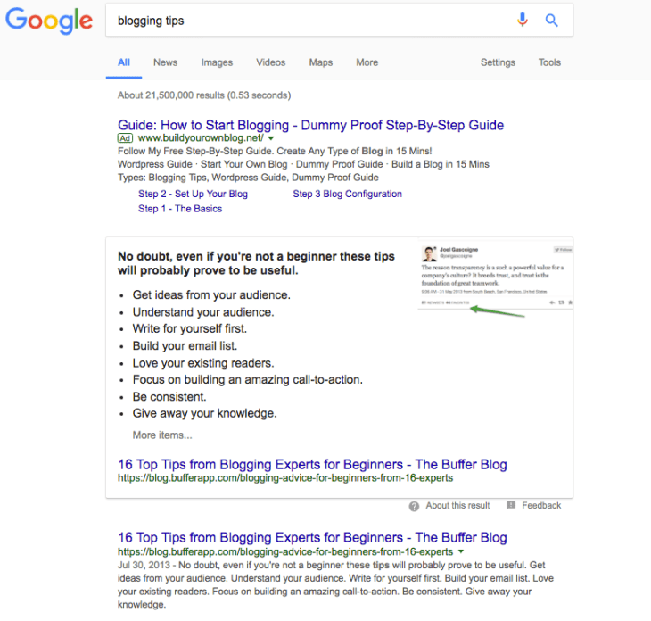guest posting wisely google result