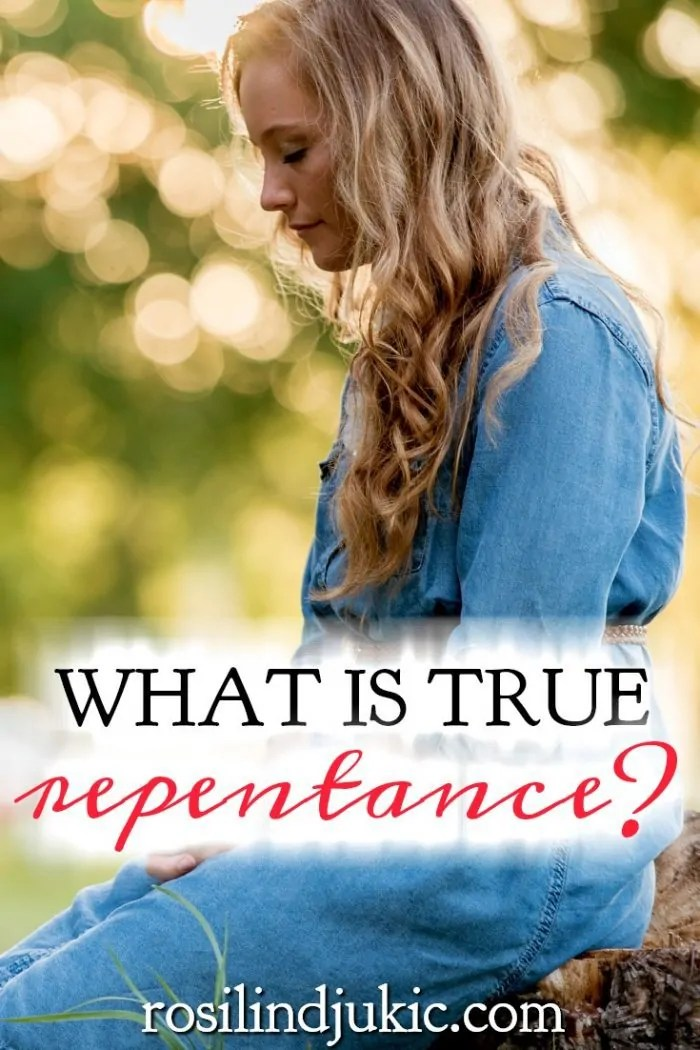 Many Christians feel sorry for their sin, but seem to go back and do the same things over again. David - in the Psalms - shows us what true repentance is. #Christianliving #Spiritualgrowth #onlineBiblestudy #psalms #Bible #God #repentance
