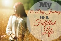 My 30-Day Journey to a Fulfilled Life