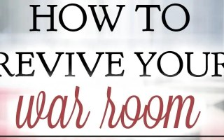 5 Simple Ways to Revive Your War Room