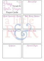 These prayer cards are perfect to carry around in your purse or pocket. They're blank, so you can fill them in with your own prayer needs or even with your own prayers.
