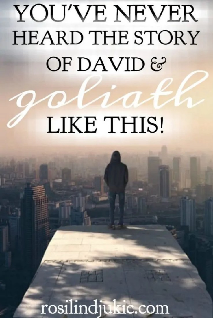 David and Goliath is not a fairy tale. The story is as real as any other event in history, and has practical, relevant application to the church today. Will you cower on the hill or will you be a David?