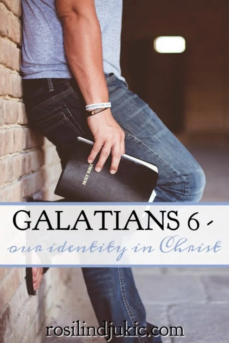 If you've ever struggled to understand your identity in Christ, Galatians 6 makes it abundantly clear how we discover who we are and how to live it out.