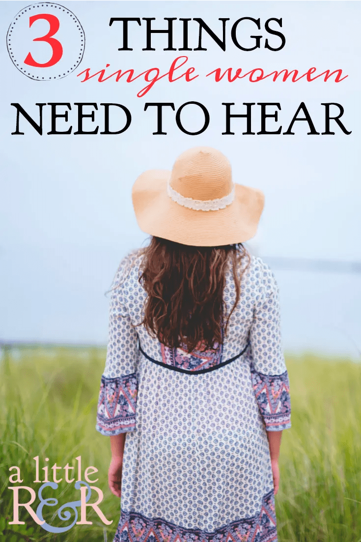 If you feel incomplete, awkward, or frustrated as a single woman, there are three things all single women in the church need to hear and understand.