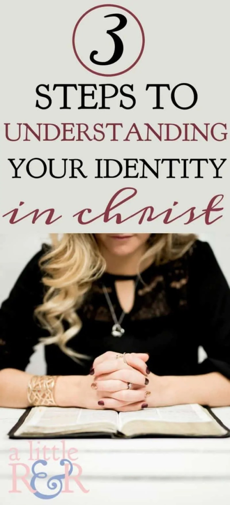 Understanding your identity in Christ is critical to your ability to live in true freedom from your past and the guilt and condemnation that so frequently plagues us. In Romans 6-8 we discover three steps to walking in our new identity in Christ.