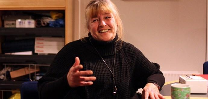 Lederen af RG60, Maibritt Auning. Foto: Kasper Hjorth