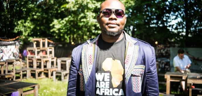 Ibrahim Ceesay, development expert and Executive Cordinator of AAPI AfricaFotograf: Inez Dawczyk