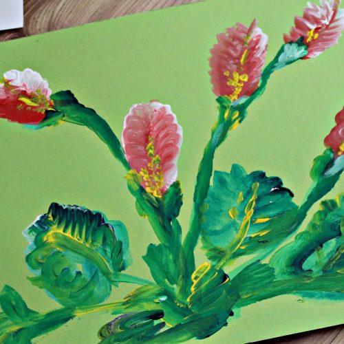 Kvety jedným ťahom (11)
