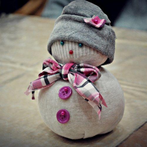 Ponožkový snehuliak Centrál (2)