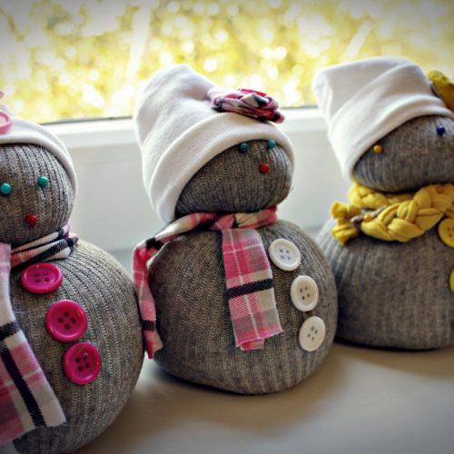 Ponožkový snehuliak ROS (5)
