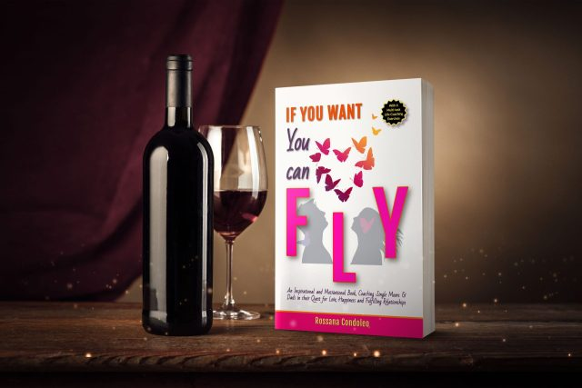 Single parent enjoying the Book If You Want You Can Fly by Rossana Condoleo