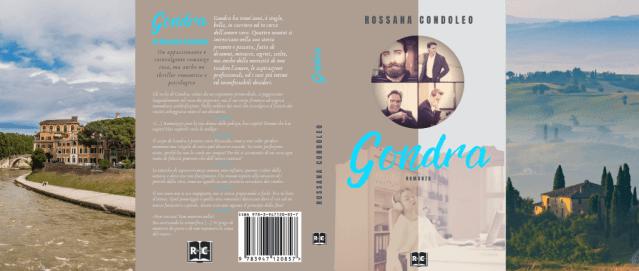 Il Romanzo Gondra è ambientato a Roma, nella campagna toscana, a Genova e Milano