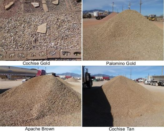 Gravel collage