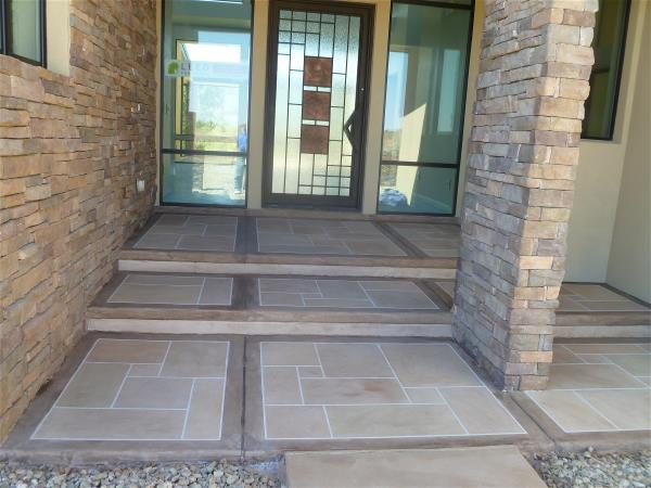 Nearly complete entry porch