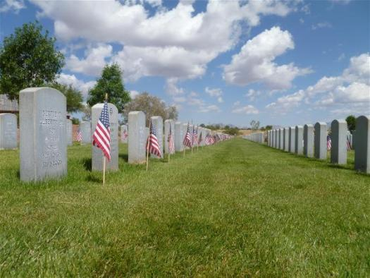 Headstones, Southern Arizona Veterans Memorial Cemetery