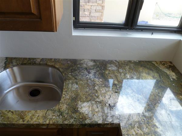 Laundry counter top