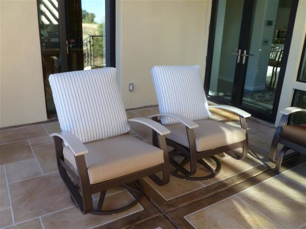 South patio swivel rockers