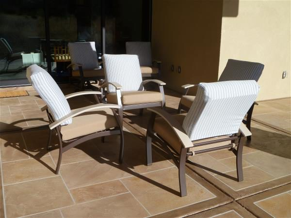 West patio dining chairs
