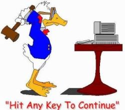 Hit Any Key to Continue