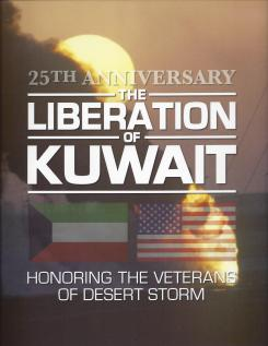 Liberation of Kuwait book cover
