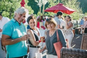 Ed Foran, Lori D'Alessio and Jeanette Darnauer