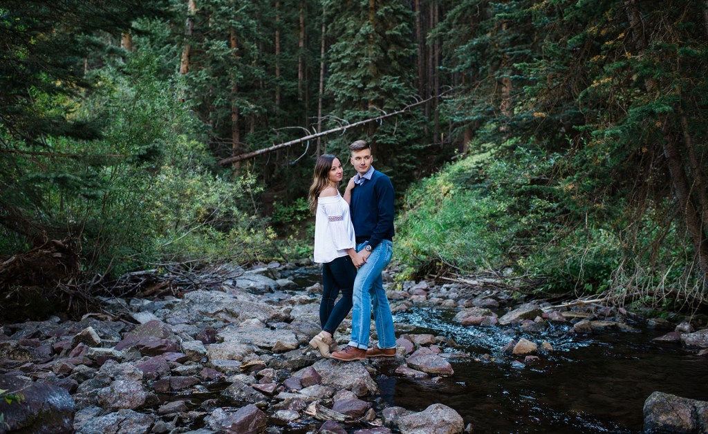 A Maroon Bells Engagement