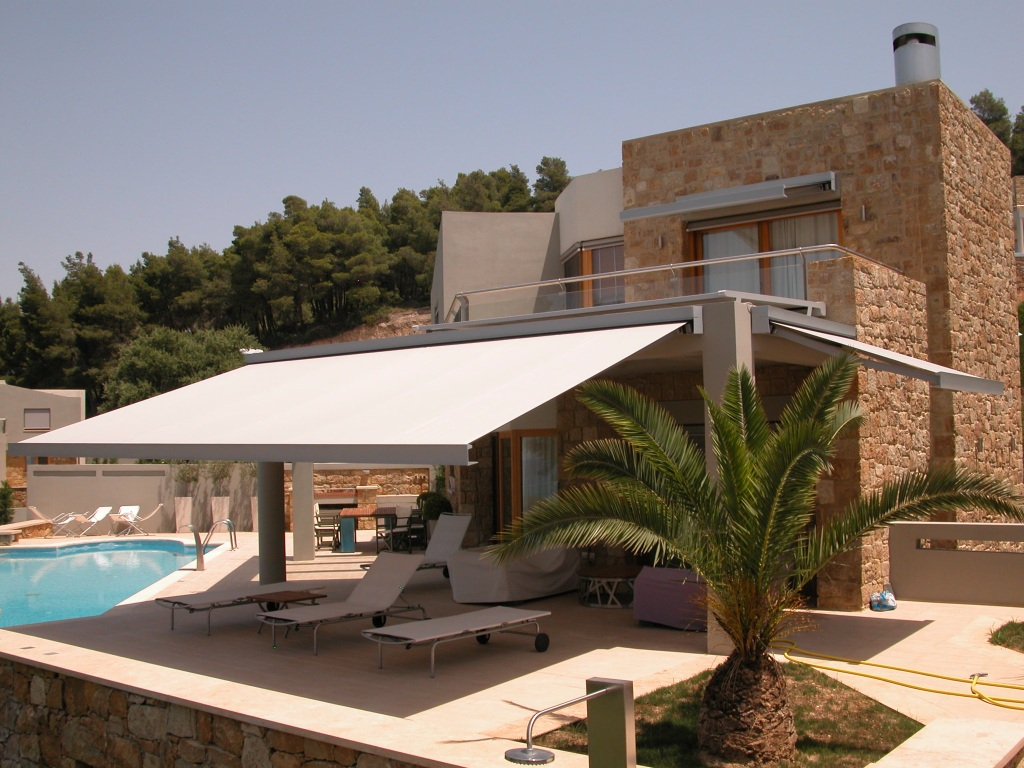 Commercial, Home Retractable Awnings - Ross Howard Dallas on Corradi Living Space  id=63030