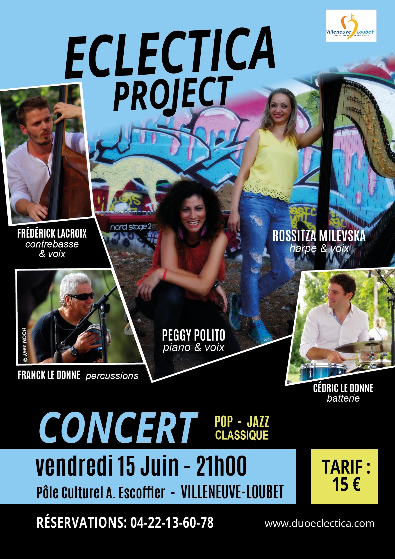 eclectica project musique concert