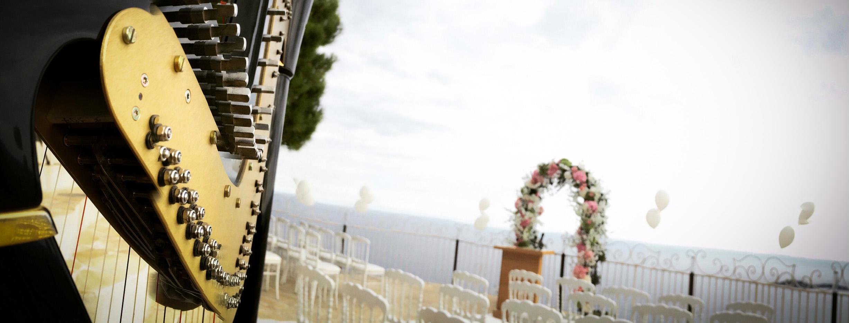 harpiste mariage milevska