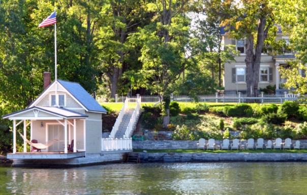 Rosslyn boathouse after Hurricane Irene
